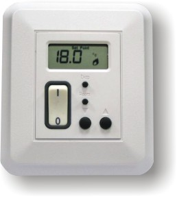 Thermostat For Radiant Floor Heating Hydronic Heating Ebay